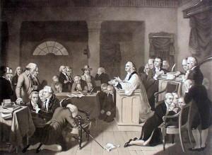 Continental Congress in Prayer