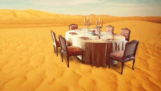 Can God Set A Table in the Wilderness? | Drinking from the Saucer