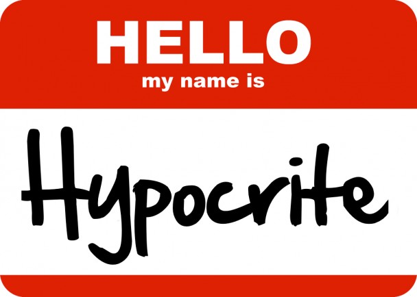 Hypocrite? | Drinking from the Saucer