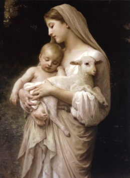 mary-and-the-lamb